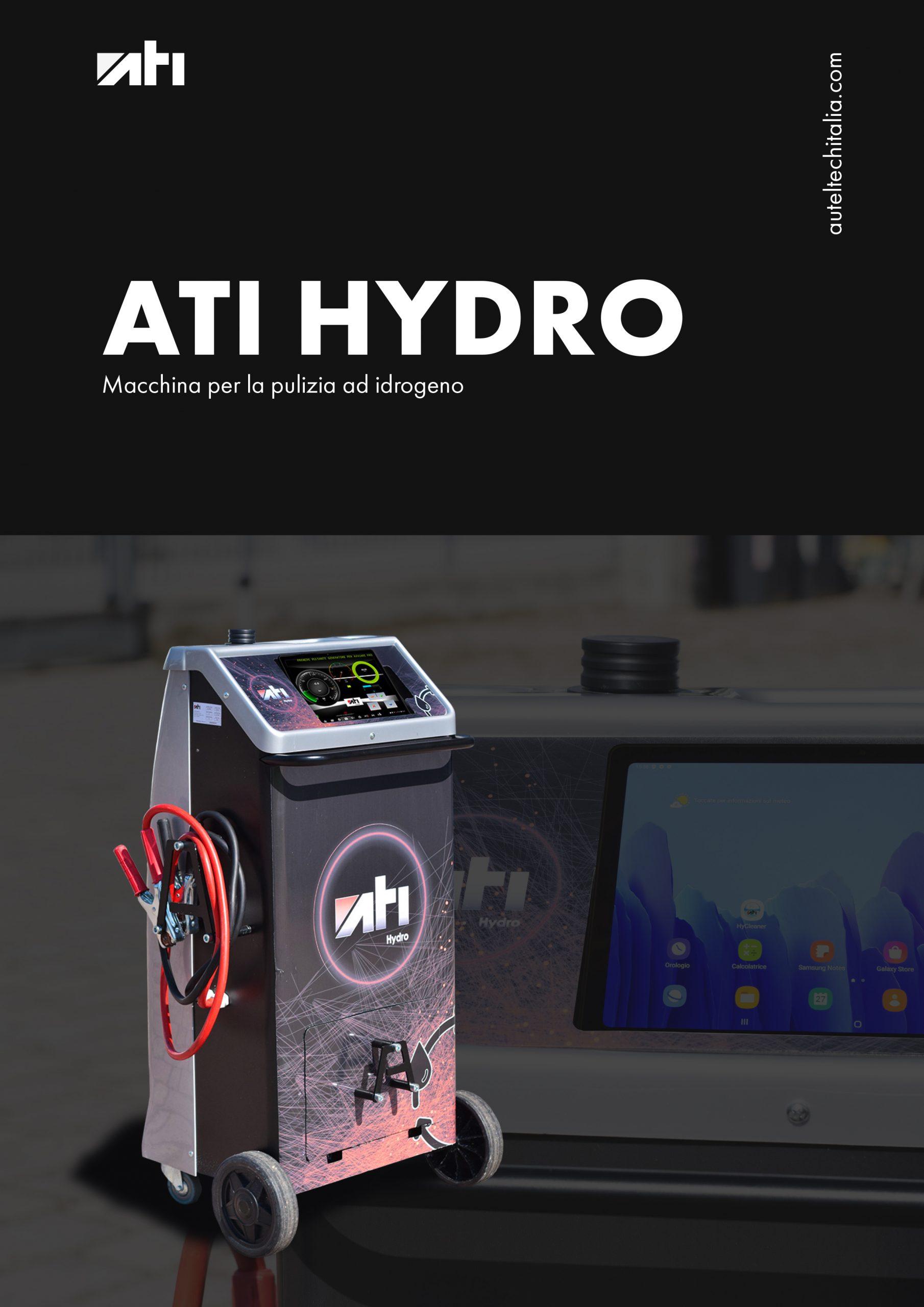 <b>ATI HYDRO</b>-Macchina per la pulizia ad idrogeno